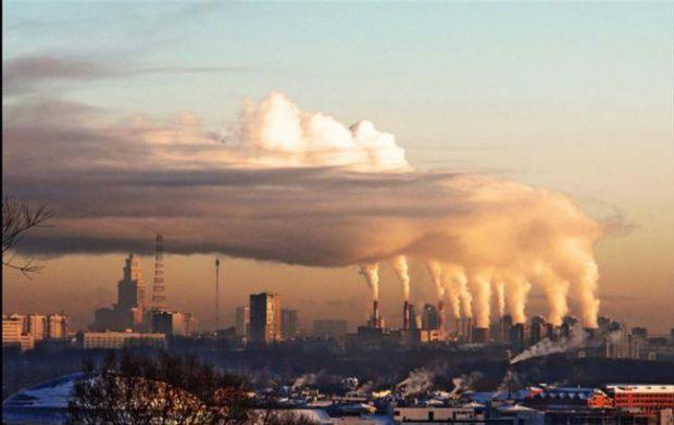 Забруднення повітря та викидні