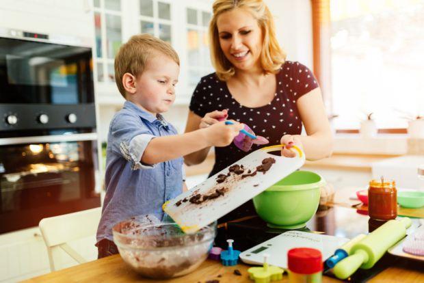 Дітей можна навчити готувати