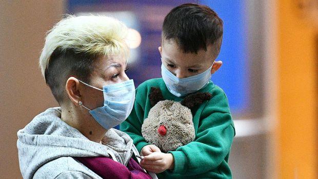Рідкісні випадки коронавірусу у дітей
