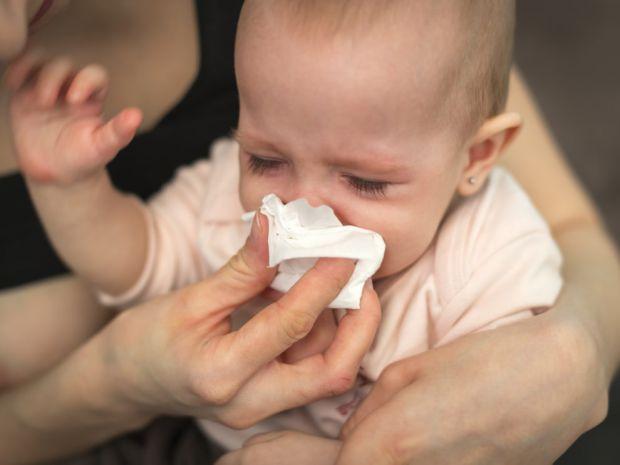 Лікування нежитю у дитини