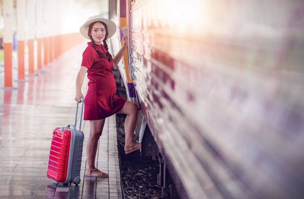 Вагітним жінкам також корисно їздити у подорожі.