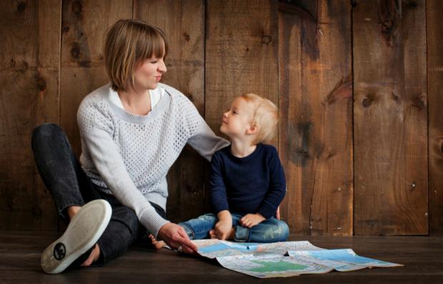 Привчаємо дитину до добрих вчинків