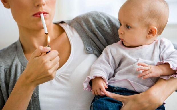 Пасивне куріння дитини