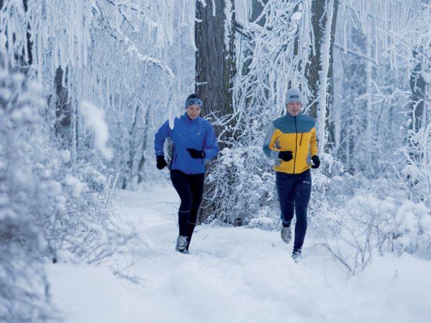 Тренування на морозі