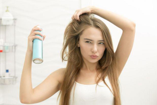 Використання сухого шампуню