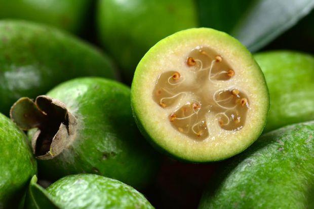 Фейхоа містить багато вітамінів