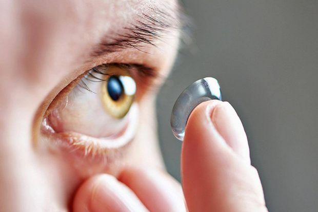 Кольорові лінзи для очей