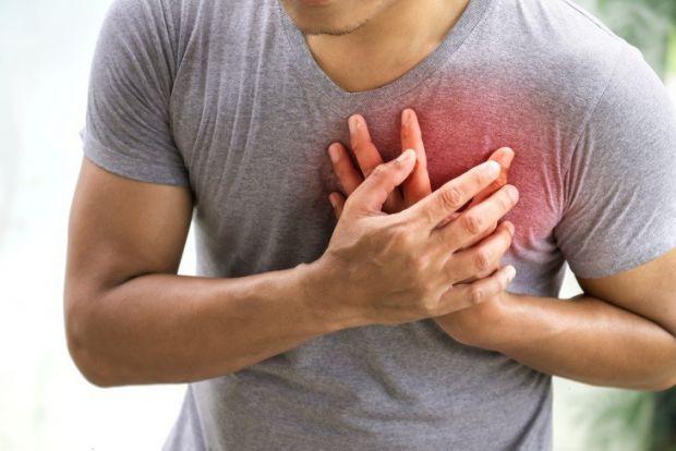 Пітливість та серцевий напад