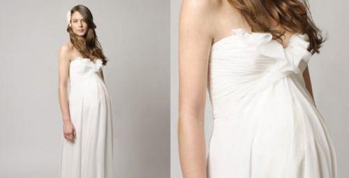 Весільні сукні для вагітних  d58bba9f5c39c