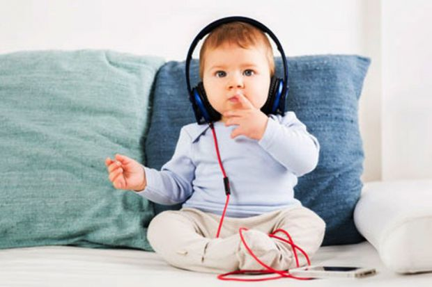 Музика впливає на розвиток дитини