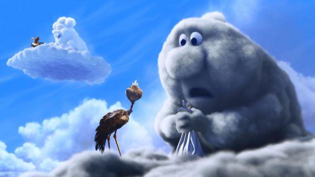 Ця історія оповідає про взаємини лелек і хмар. Лелеки приносять дітей: людям, тваринам, рибам, а чудових діток цікавими способами роблять хмари. Всі р
