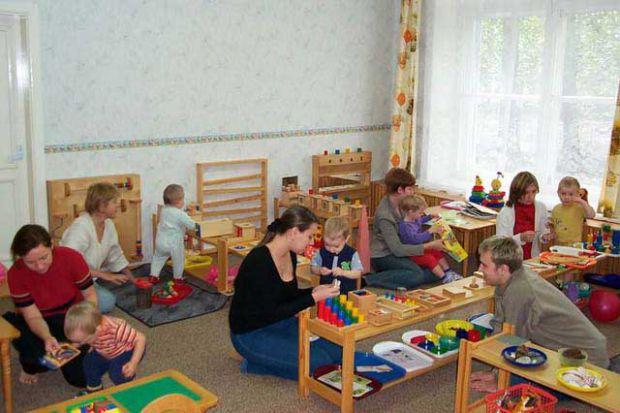 Методика развития детей Монтессори появилась очень давно. Главный фундамент методики это - свобода. Игровая форма обучения детей является основным при