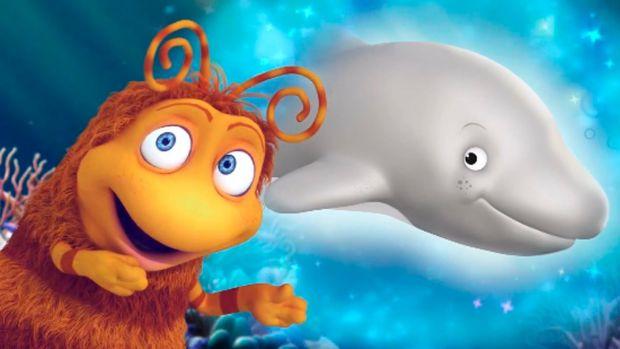 У цьому епізоді Приг і Скок побачили в біноклі дельфіна...