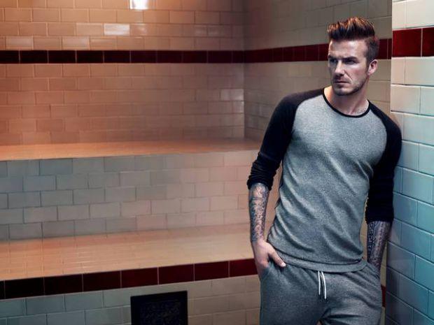 Екс-футболіст ризикнув взяти участь у фотосесії для рекламної кампанії марки H&M.