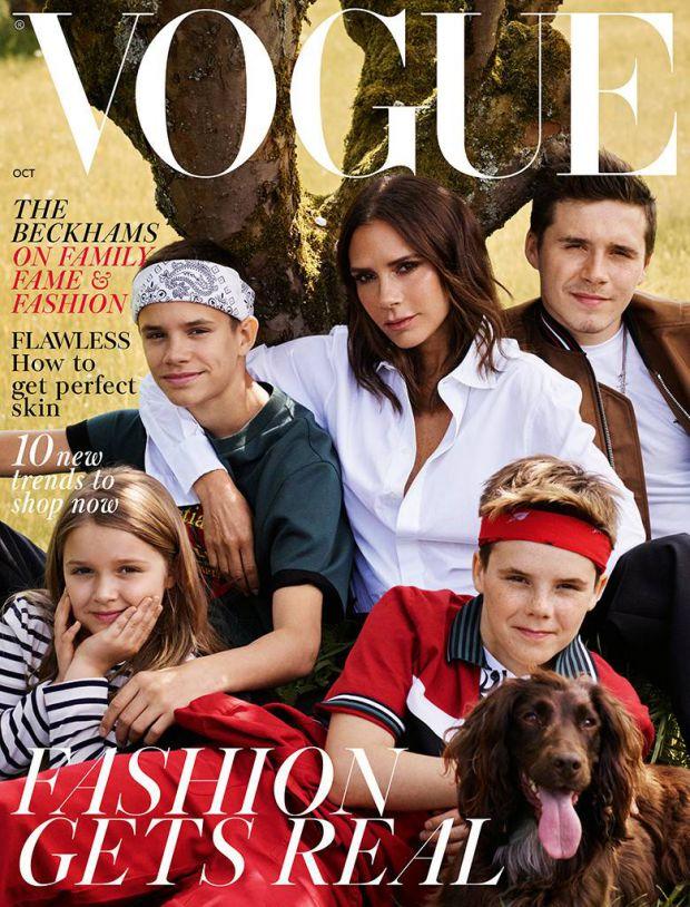Екс-футболіст Девід Бекхем і його дружина - дизайнер Вікторія Бекхем показали всьому світу свою завидну сімейну ідилію.