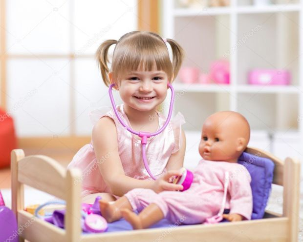 Багато дітей бояться відвідувати лікарів, якщо бути точніше 66% з 100%, у віковому проміжку - від 4 до 5 років.