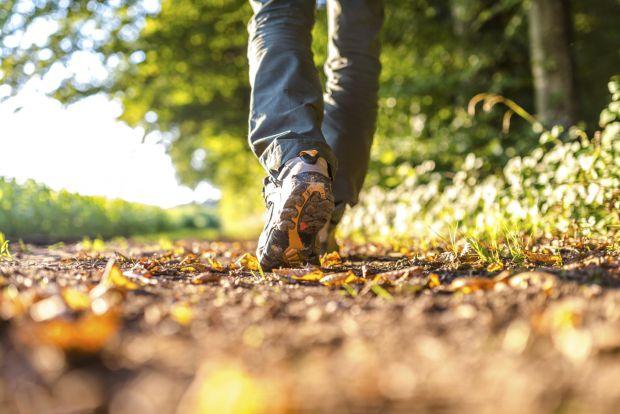 Ходити не тільки корисно для організму, але це й покращує душевний стан.