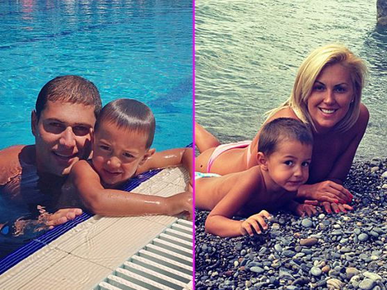 Олімпійська чемпіонка Яна Клочкова нарешті познайомила нареченого Левана Ростошвілі зі своїми батьками.