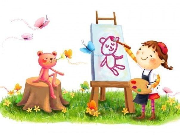 Завдяки малюванню, ліпленню, випилюванні лобзиком та іншим творчих занять формується асоціативне мислення, розвивається уява, пам'ять і поліпшується м