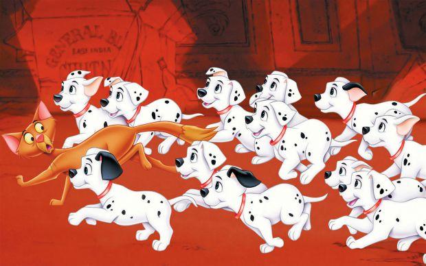 Мультфільм про собак, улюблений фільм мільйонів дітлахів.