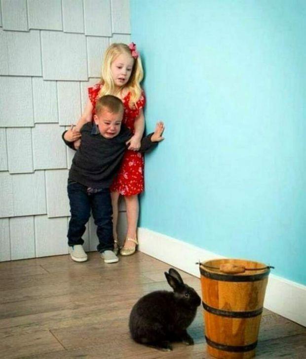 Ви навіть не представляєте, що може зробити старша дитина з молодшою сестричкою або братиком.