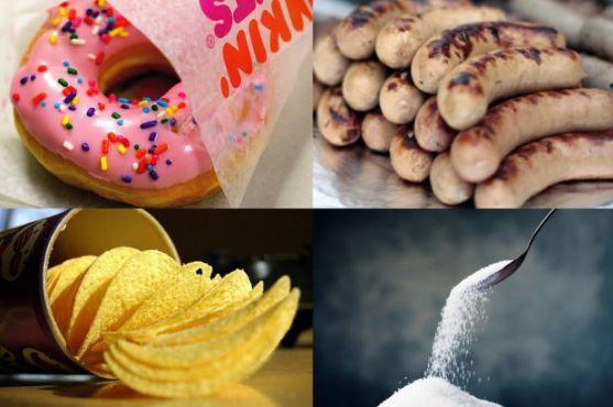 Багато батьків годують діточок продуктами, які дуже шкідливі для юного організму. До таких заборонених продуктів можна віднести: консерви, шоколадні ц