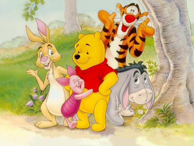 Цікаві пригоди ведмедика Вінні та його друзів.