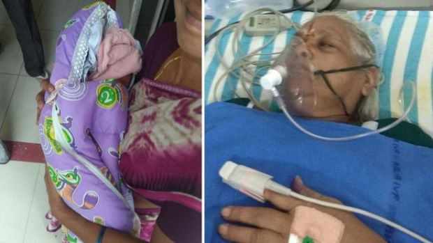 73-річна жінка з Індії народила двійню (ФОТО)