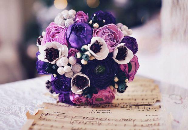 Букети для ніжних наречених.Кожна наречена хоче, щоб її букет був унікальним та підкреслював її риси характеру та додавав зовнішній красі ще більшої н