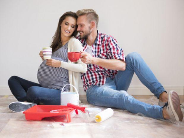 Затіяли ремонт, коли ви вагітна - тоді тримайте себе в руках, щоб не нашкодити собі і малюку!