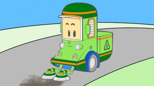 Робокар Полі - добрі, яскраві, повчальні мультфільми про машинки.