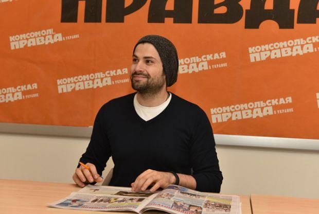 Співак з донечкою з'являться на обкладинці українського глянцю. Повідомляє сайт Наша мама.