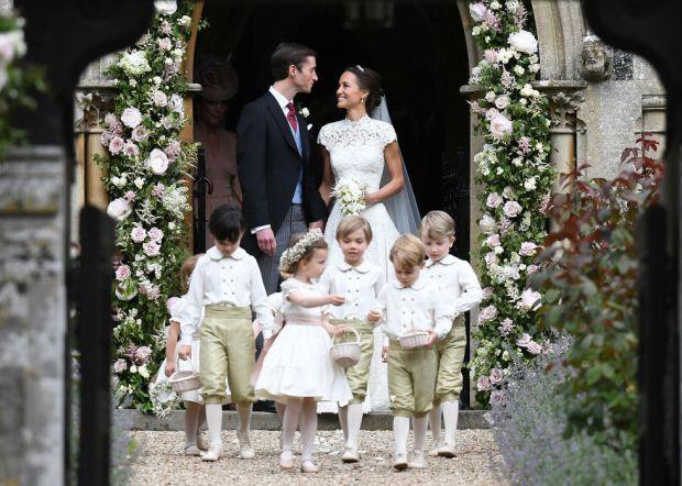 Принц Джордж і принцеса Шарлотта на весіллі Піппи Міддлтон (ФОТО)