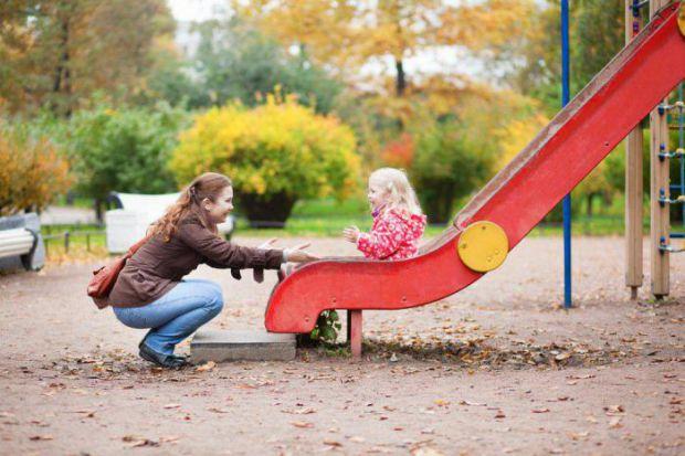 Щоб дитина не травмувалася на гірці, потрібно ретельно її розглянути і дотримуватися декількох правил.