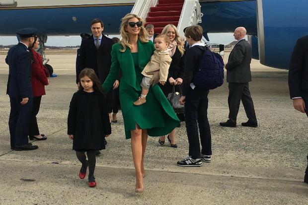 Дочка нового президента Америки та її діти. Дивимось! Повідомляє сайт Наша мама.