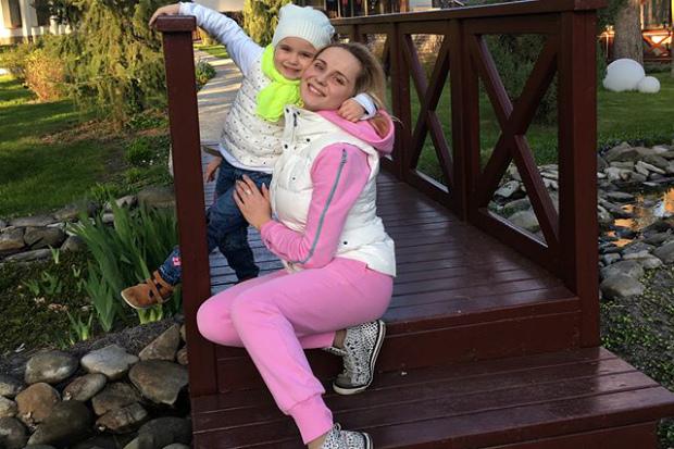 Лілія Ребрик показала донечку в
