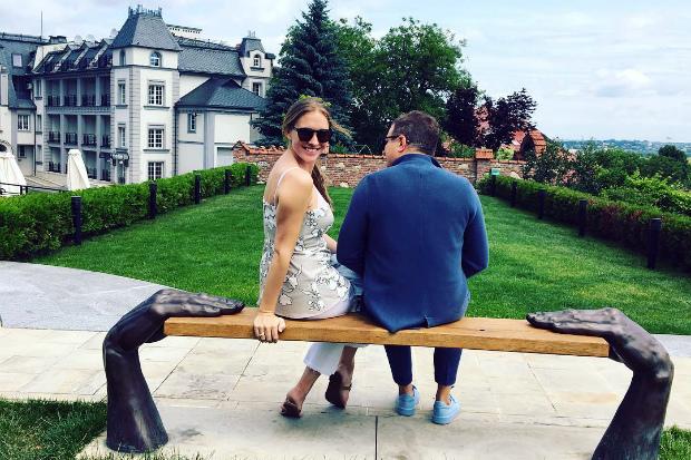 Катя Осадча та Юрій Горбунов провели вихідні у Львові (ФОТО)