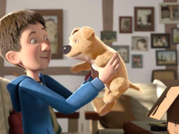 Німецький мультиплікатор Якоб Фрей створив зворушливий короткометражний мультфільм The Present про хлопчика, який отримав у подарунок собаку.