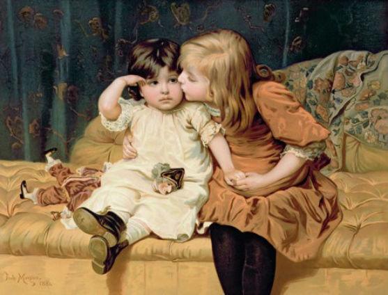 Порівняно з дорослою, історія дитячої моди не тривала. Про красивий одяг для малюків дорослі почали задумуватися лише 200 років тому.
