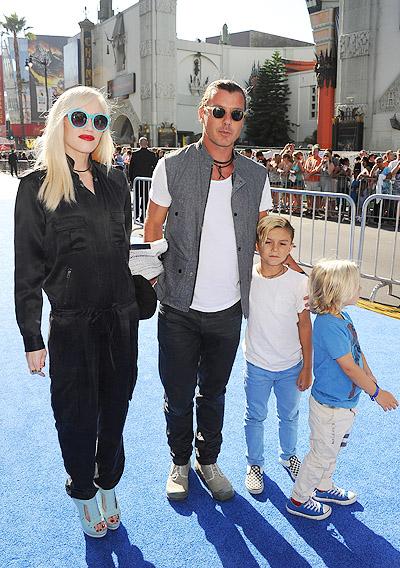 Інсайдери журналу InTouch повідомляють: Гвен Стефані та її чоловік Гевін Россдейл стануть батьками втретє, подарувавши брата чи сестру своїм синам Кін