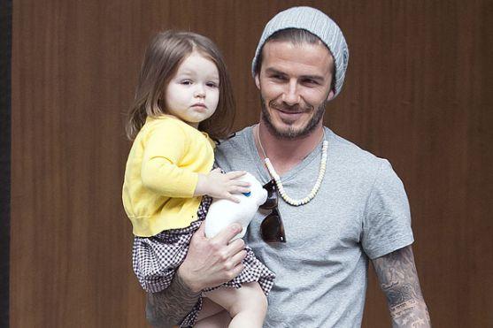 В одному із інтерв'ю західним таблоїдам відомий футболіст зізнався, що хотів би проводити якомога більше часу зі своїми дітьми. Девід, за власним визн