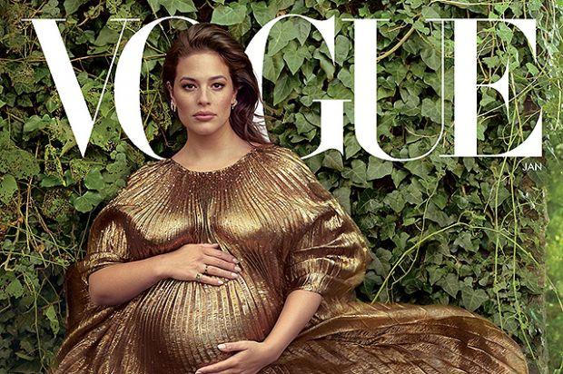 Плюс-сайз модель Ешлі Грем розповіла про вагітність для Vogue