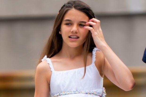 Маленька красуня: 13-річна Сурі Круз гуляє Нью-Йорком (ФОТО)