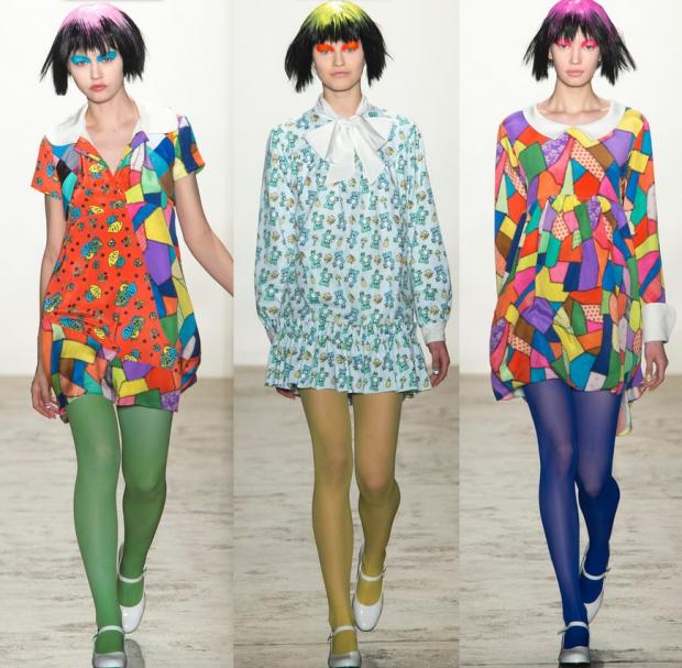 Розповімо, як носити цього сезону кольорові колготки, щоб виглядати неперевершено.