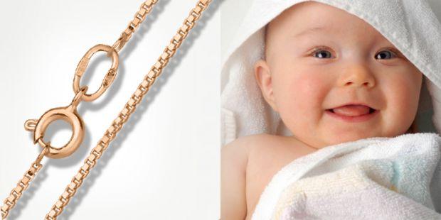До покупки дитячих ювелірних прикрас батьки завжди підходять дуже ретельно. Перші ланцюжки зазвичай купуються на таїнство хрещення і розраховані на тр