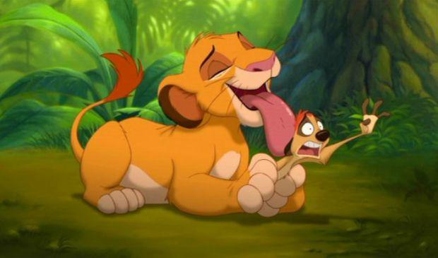 Повна версія мультфільму про маленького короля левів.