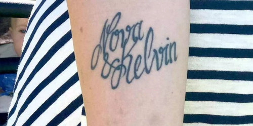 Через невдале відвідування тату-салону, мешканка Швеції Йоханна Сандстром, вирішила змінити ім'я своєму синові. Про цю новину стало відомо з місцевого