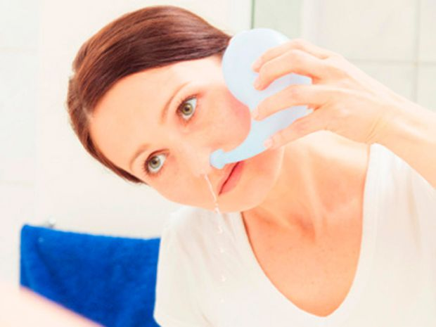 Вважається, що після промивання знижується набряк слизової, нормалізується робота самого носа і капілярів, прискорюється рух слизу, завдяки чому орган