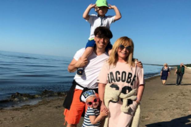 Діти Максима Галкіна привітали татка з днем народження (ВІДЕО)