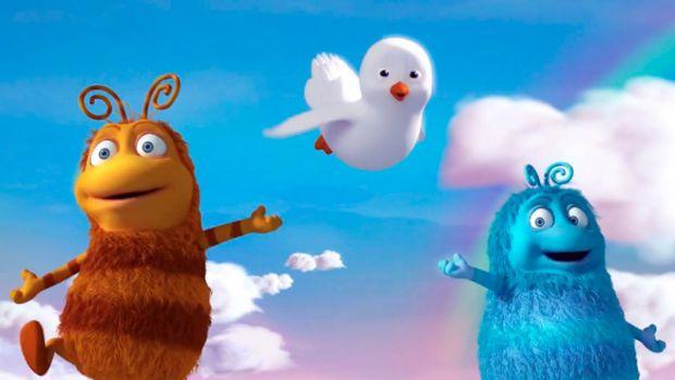 Цього разу Приг і Скок відгадуватимуть мавпочку.